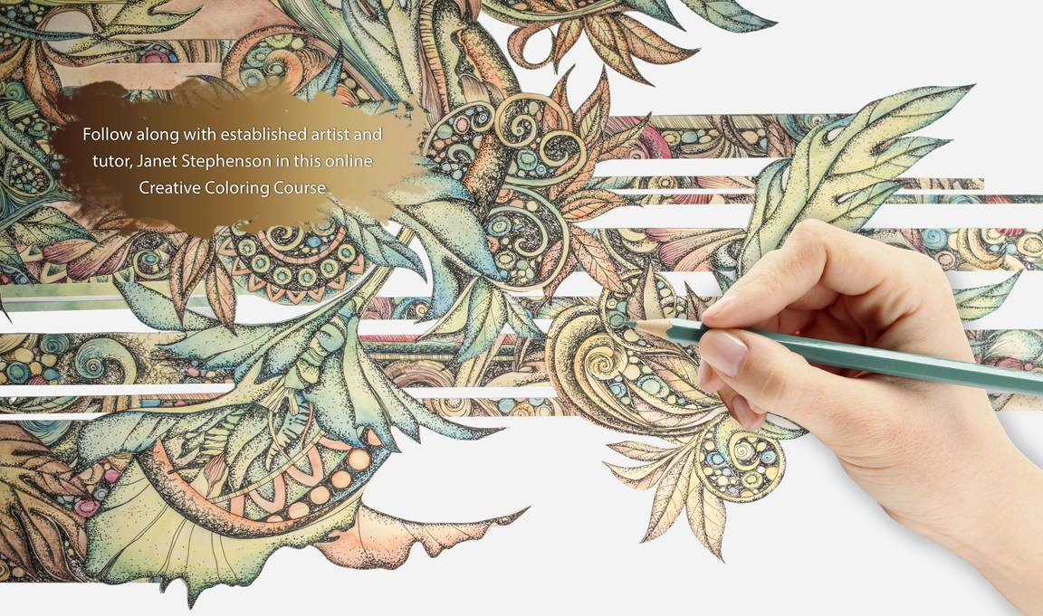 Adult Coloring - Creative Coloring Course